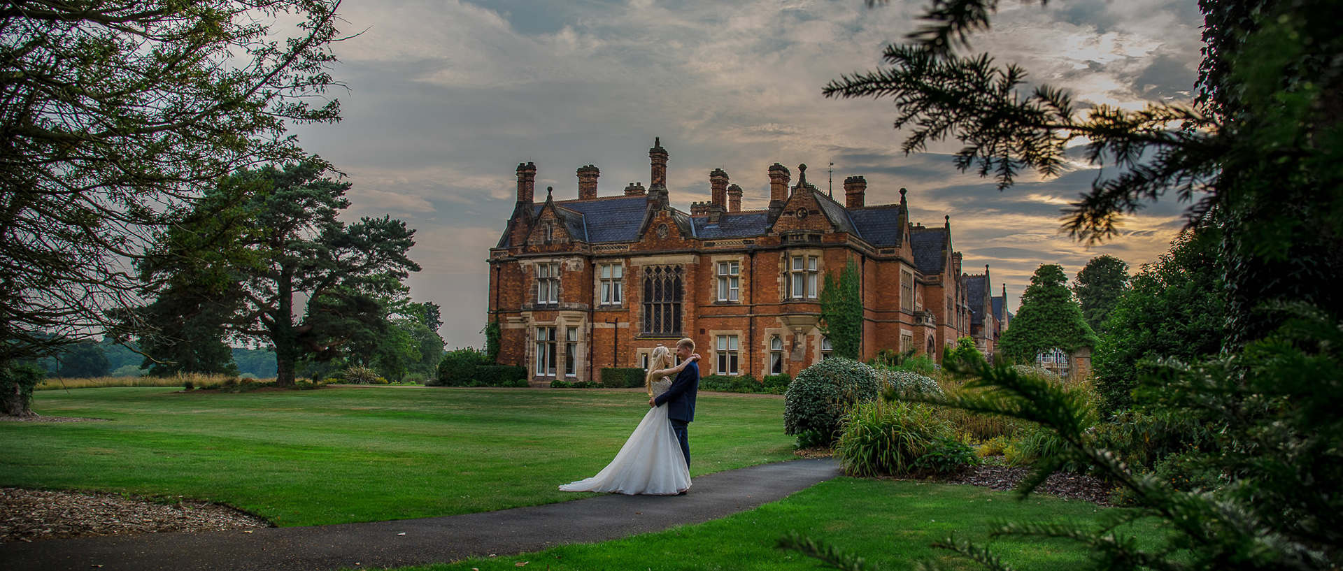 Claire and Liam's wedding at Rockliffe Hall