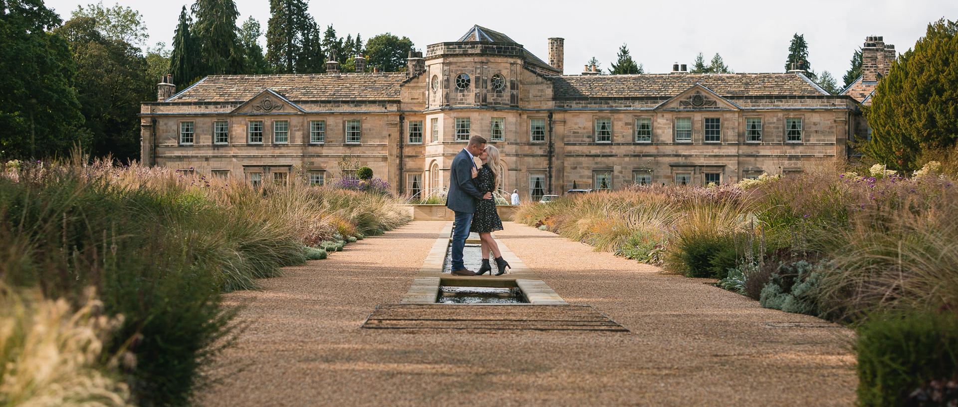 Grantley Hall - Pre wedding Photography Shoot