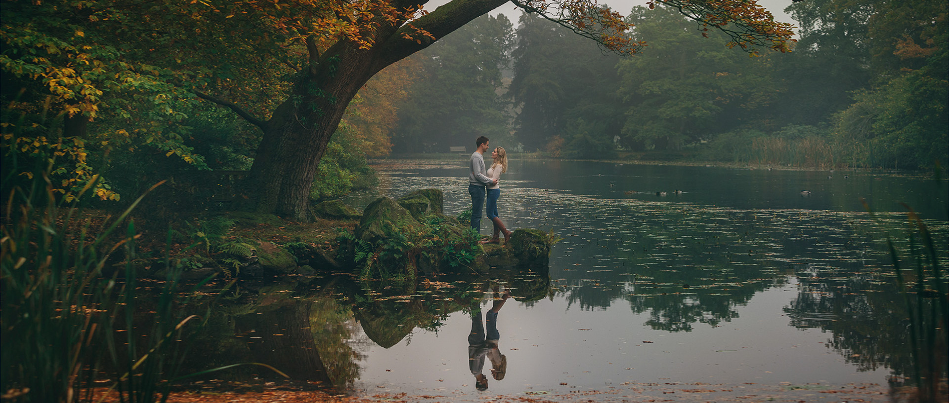 Louise and Mark Pre wedding Shoot at Swinton Park