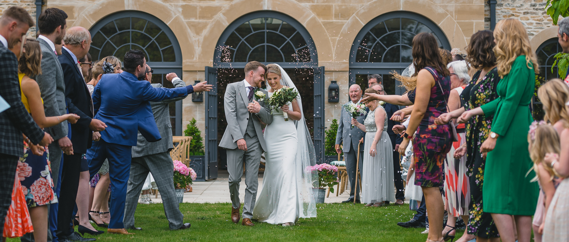 Middleton Lodge - The Walled Garden Wedding