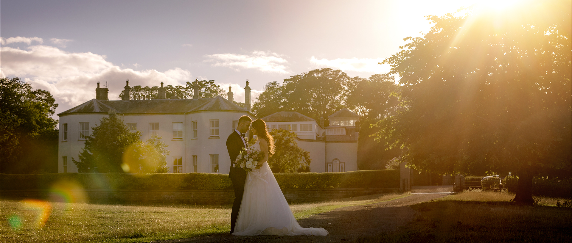 Rachel & James Wedding at Lartington Hall