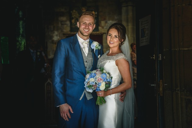 Stan-Seaton-Photography-bride-and-groom-at-church-doorway