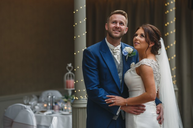 Stan-Seaton-Photography-Headlam-Hall-wedding-bride-and-groom-in-the-coach-house