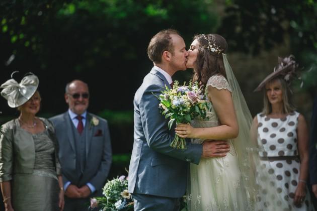 041 Durham-Castle-Wedding-Photographer-Stan-Seaton-first-kiss.JPG