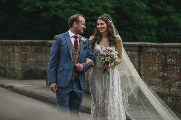 055 Durham-Castle-Wedding-Photographer-Stan-Seaton-bride-and-groom-on-Prebends-bridge.JPG