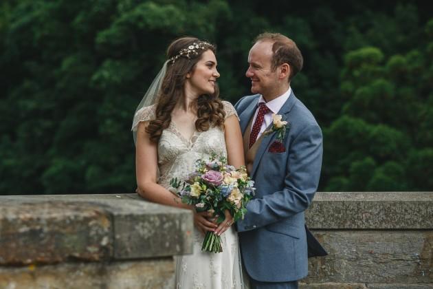 058 Durham-Castle-Wedding-Photographer-Stan-Seaton-bride-and-groom-on-Prebends-bridge.JPG