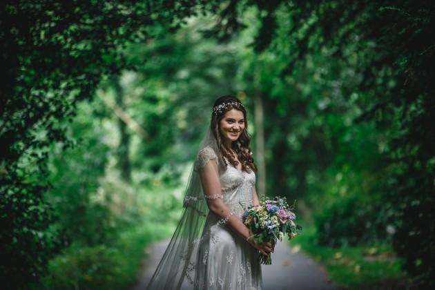 059 Durham-Castle-Wedding-Photographer-Stan-Seaton-Bride-in-the-Woods.JPG