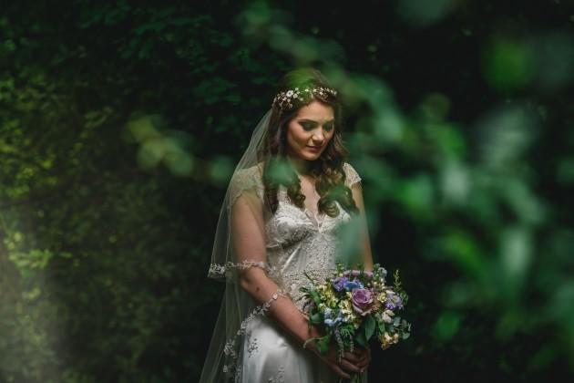 061 Durham-Castle-Wedding-Photographer-Stan-Seaton-Bride-in-the-Woods.JPG