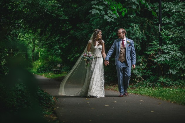 064 Durham-Castle-Wedding-Photographer-Stan-Seaton-Bride-and-groom-in-the-Woods.JPG