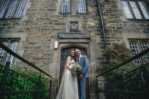 069 Durham-Castle-Wedding-Photographer-Stan-Seaton-Bride-and-groom-at-Hatfield-College.JPG