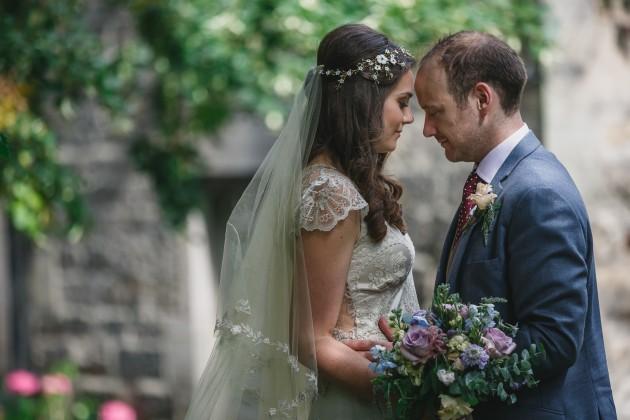 072 Durham-Castle-Wedding-Photographer-Stan-Seaton-bride-and-groom-in-hatfield-College-garden.JPG