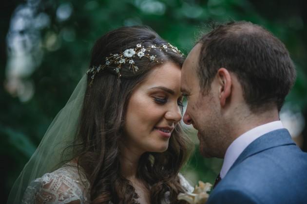 074 Durham-Castle-Wedding-Photographer-Stan-Seaton-Bride-and-groom-head-to-head.JPG