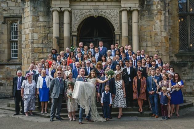 077 Durham-Castle-Wedding-Photographer-Stan-Seaton-group-shot.JPG