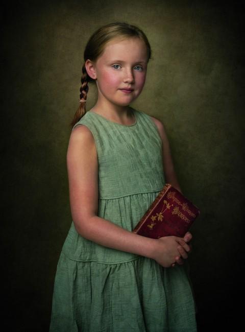 Stan-Seaton-Fine-Art-Textured-School-girl 30 copy copy.jpg