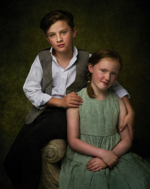 Stan-Seaton-Fine-Art-Brother-and-sister jpg
